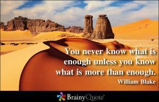 William Blake's quote