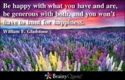 William E. Gladstone's quote