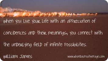 William James's quote
