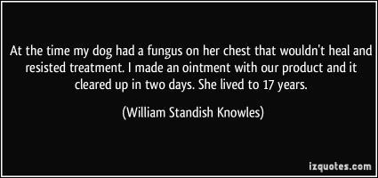 William Standish Knowles's quote