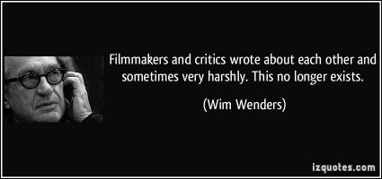 Wim Wenders's quote