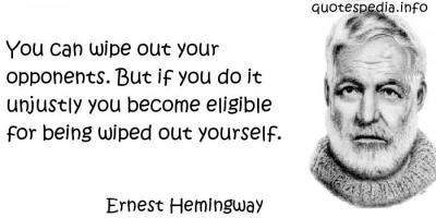Wipe quote #1
