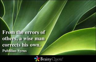 Wise Man quote #2