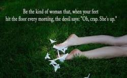 Womanly quote #1