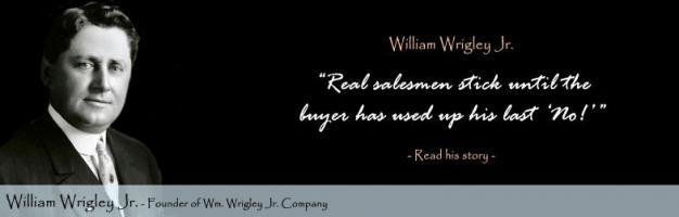 Wrigley quote