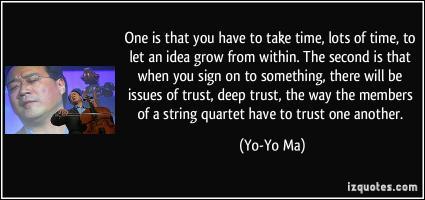 Yo-Yo Ma's quote