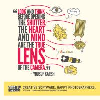 Yousuf Karsh's quote