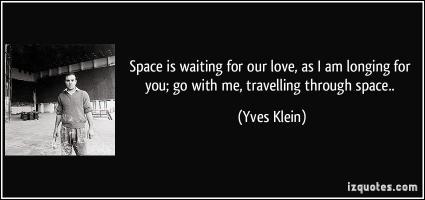 Yves Klein's quote #4