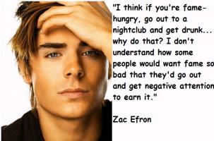 Zac Efron quote
