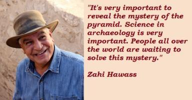 Zahi Hawass's quote