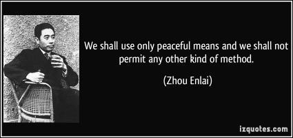 Zhou Enlai's quote #1