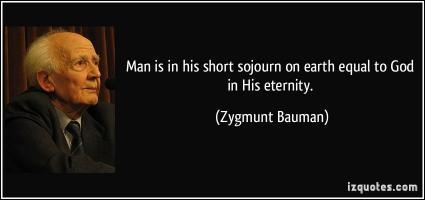 Zygmunt Bauman's quote